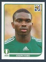 PANINI-SOUTH AFRICA 2010 WORLD CUP- #128-NIGERIA & EVERTON-JOSEPH YOBO