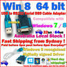 USB to RS232 DB9 Serial Cable Adapter Converter Windows 8 Win 7 64bit /RJ45 Plug