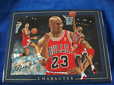 "Michael Jordan definition of a champion ""Character"" 2000 UDA Limited Edition"