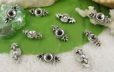 80PCS Tibetan silver 2 holes spacer beads FC10368