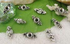 80PCS Tibetan silver 2 holes spacer beads FC10368