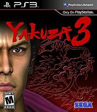 Yakuza 3 PS3 BRAND NEW IN STOCK FREE SHIPPING