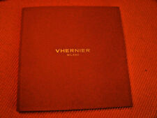 VHernier Milano Jewelry Softcover Book NEW 2016
