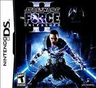 Star Wars: The Force Unleashed II -- Nintendo DS -- Complete