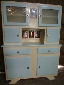 Kitsch 1950s 1960s Vintage Retro French Dresser Kitchen Pantry Larder Cabinet