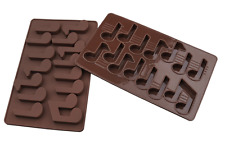 14 Music Note 3D Brick Mold Silicone Tray Chocolate Ice Cube Jelly Fun Mould