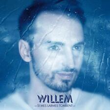 CHRISTOPHE WILLEM - CD PROMO SI MES LARMES TOMBENT - RARE - COLLECTOR