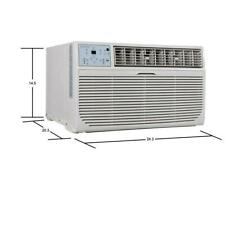 12,000 BTU 115-Volt Through-the-Wall Air Conditioner with LCD Remote Brand New!