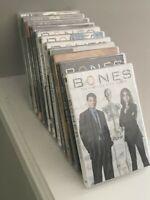 BONES  complete series (1-11) DVD  1,2,3,4,5,6,7,8,9,10,11