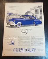 1949 Plymouth White Sidewall Tires Radio Optional Vintage Print Ad