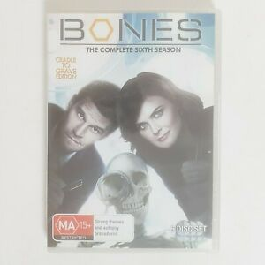Bones Season 6 DVD Region 4 AUS TV Series - Crime Detective