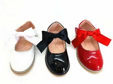 Niños Niñas Plana Fiesta Zapatos Nuevos Brillo Bridesmaids Wedding bombas