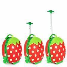boppi Kids Cabin Bag Childrens Roller Luggage Light Kids Travel Cases STRAWBERRY