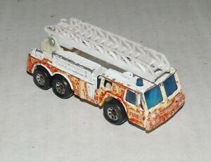 Matchbox Fire Engine (1982) Made in Thailand