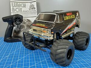 """Use Tamiya 1/12 """"Black Edition"""" Lunch Box Monster Van 58546 ESC 2.4GHz with LED"""