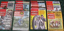 Motorcycle Mechanics 27 issues 1960s. Job lot. Collection.