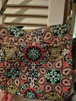 VERA BRADLEY coral brown purse bag Hipster Beautiful Fall SEE MY STORE FOR MORE