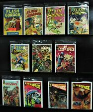 Sci-Fi Comics Lot- Flash Gordon, Lost In Space, Harvey, Whitman Cgc Gd To F+