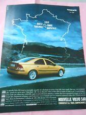 Publicté Advertising 2001  La Volvo S60 for Life