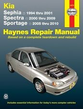 Kia Sephia, Spectra Sportage 94-2010 Haynes Manual NEW Service Book owners Shop