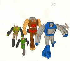 Anime / Animation Production Cel Transformers: The Headmasters #2