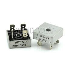 2 pcs KBPC3510 Bridge Rectifier Gleichrichter 1000V AC change DC 35A KBPC-3510
