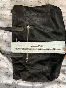 Michael Kors Black Nylon Stars Tote Bag