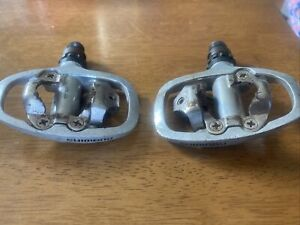 Shimano Bicycle Pedals. Spinning Touring MTB Road. PD A520 Clipless. SPD 2 BOLT