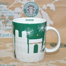 Starbucks ® City Mug paris beau relief 2015 Ltd pm EDT Cup villes tasse gobelet France