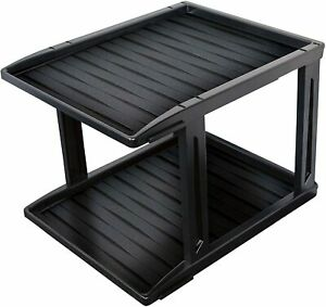Family Home Products Heavy Duty Weatherproof All-Purpose 2 Tier Boot Trays
