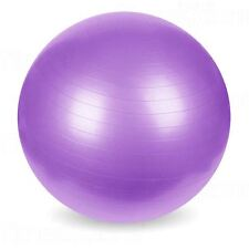 Exercise Gym Yoga Swiss Ball Fitness Pregnancy Birthing Anti Burst 65cm Purple