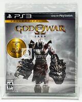 God Of War Saga - PS3 - Brand New | Factory Sealed