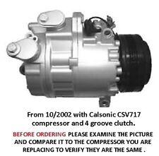 BMW X5 3.0L   AC Compressor 2002 2003 2004 2005 2006