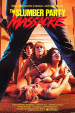 1982 The Slumber Party Massacre Vintage Horror Movie Poster Print 36x24 9 Mil