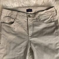 NYDJ Crop Jeans Womens Size 6P Capri Denim