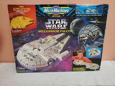 Galoob 1995 Micro Machines Star Wars Millennium Falcon Playset R9