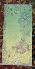 Neil Gaiman DESERT WIND First edition Broadside Poem 750 Copies Molly Crabapple