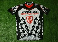 RARE CYCLING SHIRT JERSEY MAGLIA TRIKOT TREK 2010 RIDECAMP BONTRAGER SIZE S