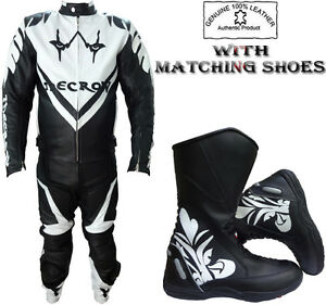 'THE CROW' STYLE MENS  ARMOUR MOTORBIKE / MOTORCYCLE LEATHER JACKET / SUIT
