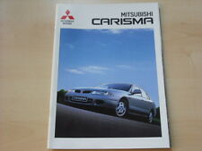 53961) Mitsubishi Carisma Prospekt 09/1996