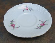 Wawel China Rose Garden Coffee Cup Saucer Made in Poland