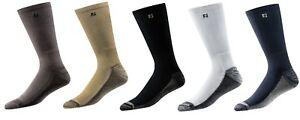 (6) SIX Pairs of NEW Mens Footjoy ProDry CREW Solid Golf Socks, PICK A COLOR