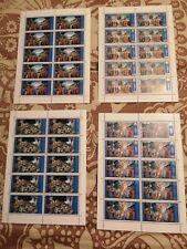 Vaticano 2000 sottocosto 4 Minifogli Cappella Sistina nuovi