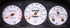 Lockwood Toyota Celica ST182 1990-1994 Import 180MPH WHITE (ST) Dial Kit 44UUU2
