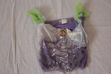 Disney Princess Ariel Girls Halloween Costume & Wig Sz L 10/12