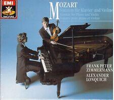 Mozart: Sonate Per Violino e Pianoforte / Frank Peter Zimmermann, A. Lonquich CD