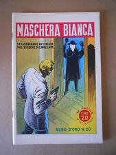 ALBI D'ORO n°20 1946 Maschera Bianca Ristampa  [G754] Ottimo
