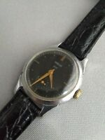 WRIST WATCH POBEDA PChZ rare 15 JEWELS USSR 1950s / Serviced