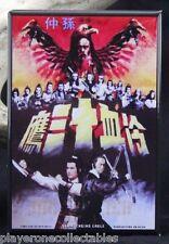 "The Avenging Eagle Chinese Movie Poster 2"" X 3"" Fridge / Locker Magnet. Kung Fu"