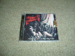 MONKEY BUSINESS - THE NOBLE ART OF WASTING TIME - CD ALBUM - BRAND NEW
